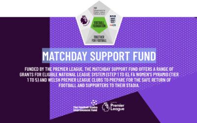 Matchday Support Fund