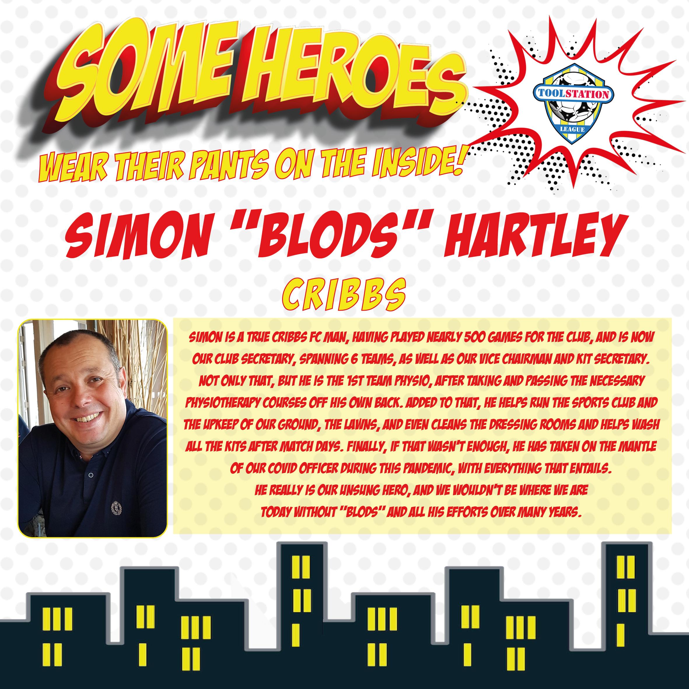 Simon Hartley - Cribbs